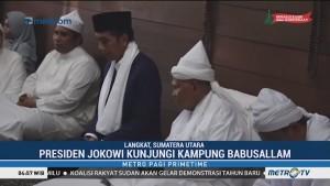 Jokowi Bersilaturahmi dengan Tuan Guru Babussalam