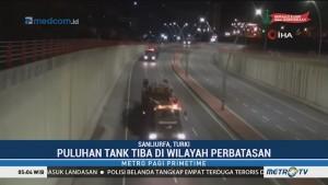 Militer Turki Kirim Tank ke Perbatasan Suriah