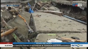 Sejumlah Infrastruktur di Barru Rusak Pascabanjir Bandang