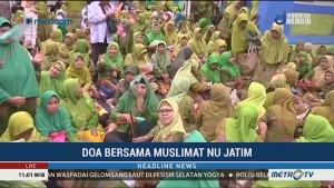 Muslimat NU Jatim Gelar Doa Bersama