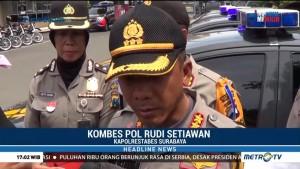2.500 Personel Siap Amankan Pergantian Tahun di Surabaya