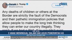 Trump Tolak Tuduhan atas Kematian Dua Anak Imigran