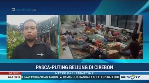 BPBD Masih Mendata Kerugian Akibat Puting Beliung di Cirebon