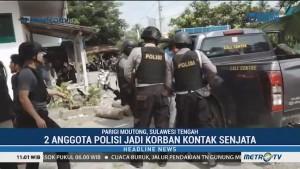 Dua Anggota Polisi Jadi Korban Kontak Senjata di Sulteng