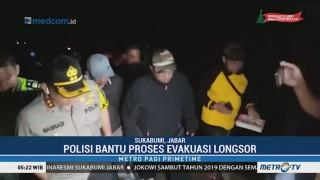 Kapolres Sukabumi Pantau Evakuasi Korban Longsor