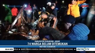 34 Rumah Warga di Sukabumi Tertimbun Longsor