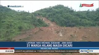 41 Korban Longsor di Sukabumi Belum Ditemukan