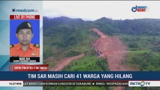 Pencarian Korban Longsor di Sukabumi Dilakukan Secara Manual