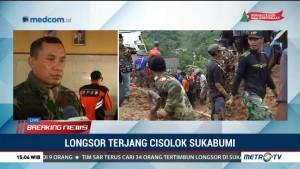 Pencarian Korban Longsor Cisolok Terus Dilakukan Hingga 6 Januari