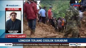Bupati Sukabumi Maksimalkan Pencarian Korban Longsor