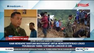 Cuaca Buruk, Basarnas Tidak Bisa Evakuasi Korban Longsor