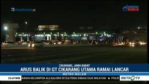 Arus Balik di GT Cikarang Utama Ramai Lancar