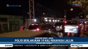 Kemacetan di Kawasan Wisata Lembang Mengular hingga 2 Km