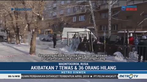 Ledakan Gas di Rusia, 7 Tewas & 36 Orang Hilang