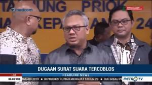 KPU: Tidak Ada Surat Suara Tercoblos