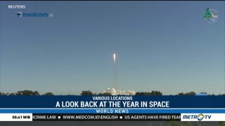 A Look Back at the Year in Space