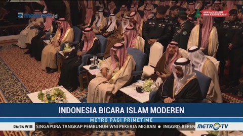 Indonesia Bicara Islam Modern di Depan Raja Salman
