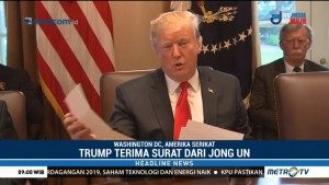 Trump Menyatakan Siap Bertemu Kim Jong Un
