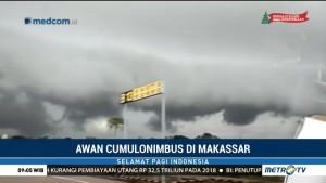 Fenomena Awan Kumulonimbus di Makassar