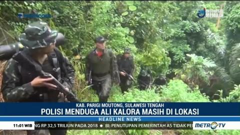 30 Personel Brimob Diberangkatkan untuk Buru Kelompok Teroris Ali Kalora
