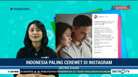 Indonesia Paling Cerewet di Instagram