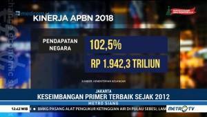 Kinerja APBN dan Pertumbuhan Ekonomi di Tahun 2018 Sangat Baik