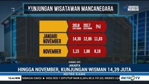 BPS Catat Kunjungan Wisman di November 2018 Capai 14,39 Juta