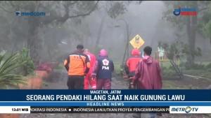 Pendaki Asal Magelang Hilang di Gunung Lawu