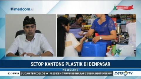 Setop Kantong Plastik di Denpasar