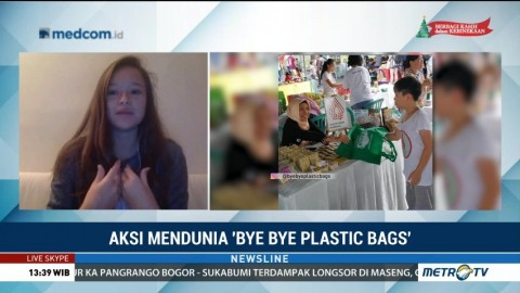Aksi Mendunia <i>'Bye-bye Plastic Bags'</i>