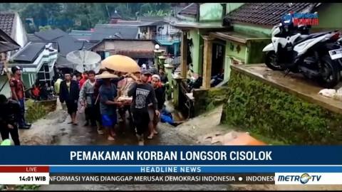 Salah Satu Korban Longsor di Cisolok Dimakamkan Hari Ini