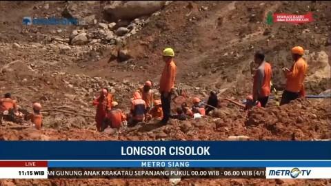 Petugas akan Bongkar Beberapa Rumah di Lokasi Longsor Sukabumi