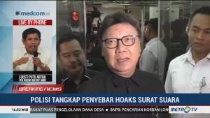 Penyebar Hoaks Surat Suara Ditangkap, TKN Jokowi Apresiasi Kinerja Polri