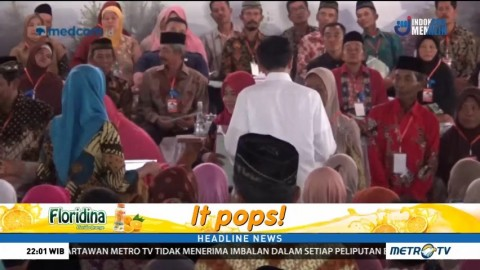 Jokowi Bagikan 2.500 Sertifikat Tanah untuk Warga Ponorogo