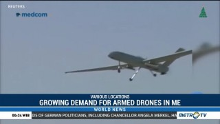 Growing Demand for Armed Drones in Middle East