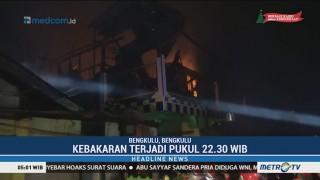 Tiga Rumah di Kota Bengkulu Hangus Tebakar