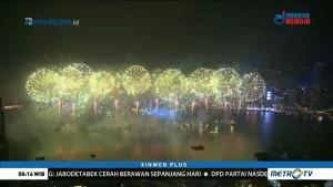 Kemeriahan Pesta Kembang Api Pergantian Tahun di Berbagai Negara