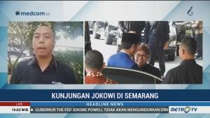Kunjungan Presiden Jokowi di Semarang