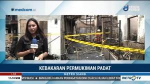 Kebakaran di Jelambar Diduga Akibat Korsleting Listrik