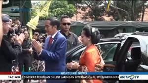 Jokowi Hadiri Resepsi Pernikahan Putra Paku Alam X