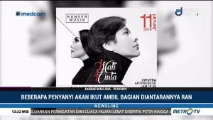 Persiapan Armand Maulana & Dewi Gita Jelang Konser 1 Hati 1 Cinta (1)