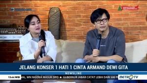 Persiapan Armand Maulana & Dewi Gita Jelang Konser 1 Hati 1 Cinta (2)