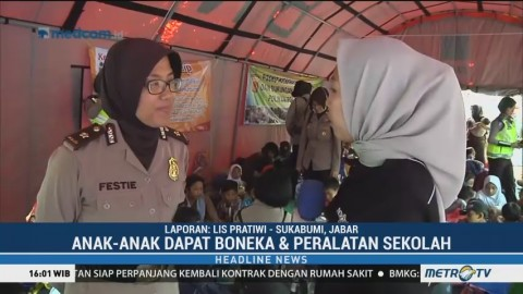 <i>Trauma Healing</i> Bagi Anak Korban Longsor Sukabumi