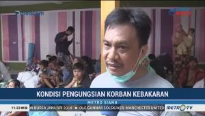 Pengungsi Korban Kebakaran Butuh Bantuan Bahan Bangunan