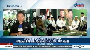 Ma'ruf Amin Hadiri Peringatan Harlah ke-46 PPP