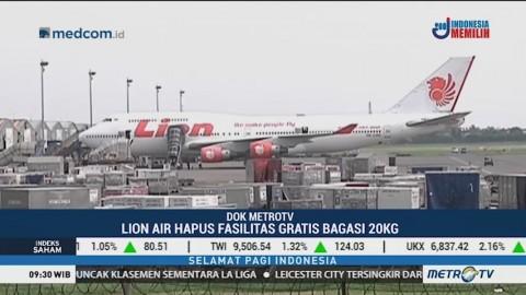 Bagasi Lion Air dan Wings Air Tak Lagi Gratis