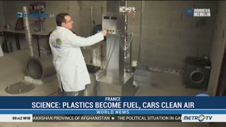 Interesting Advances: Plastics That Become Fuel, and Cars That Clean the Air