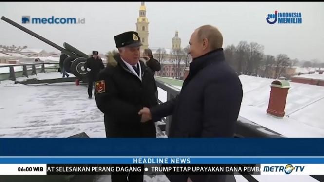 Vladimir Putin Rayakan Natal di Kampung Halaman