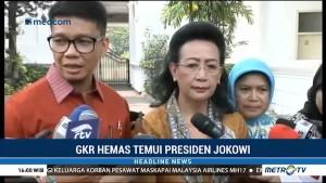GKR Hemas Jelaskan Konflik di DPD kepada Jokowi