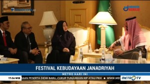 Raja Salman Kunjungi Paviliun Indonesia di Festival Janadriyah